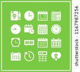 reminder icon. 16 reminder... | Shutterstock .eps vector #1167987256