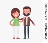 cute senior couple vector... | Shutterstock .eps vector #1167989200