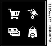 consumerism icon. 4 consumerism ... | Shutterstock .eps vector #1167992956