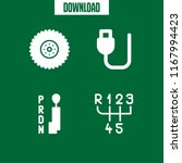 component icon. 4 component... | Shutterstock .eps vector #1167994423