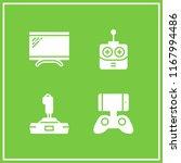 controller icon. 4 controller...   Shutterstock .eps vector #1167994486