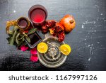 close up of herbal face pack of ...   Shutterstock . vector #1167997126