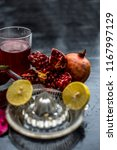 close up of herbal face pack of ...   Shutterstock . vector #1167997129