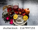 close up of herbal face pack of ...   Shutterstock . vector #1167997153