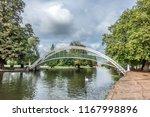 bedford embankment and bridge... | Shutterstock . vector #1167998896