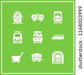 carriage icon. 9 carriage...   Shutterstock .eps vector #1168003999