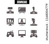 controller icon. 9 controller...   Shutterstock .eps vector #1168004779