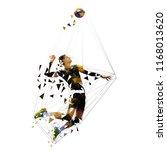 volleyball player serving ball  ... | Shutterstock .eps vector #1168013620