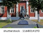 Monument To Russian Scientist...