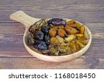 mixed crispy salted insects.... | Shutterstock . vector #1168018450
