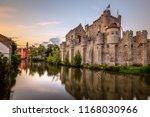 belgium gent   city view   Shutterstock . vector #1168030966