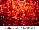 Defocused Red Lights   Bokeh