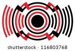 loud sound   alarm symbol | Shutterstock .eps vector #116803768