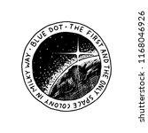 mission of mars logo.... | Shutterstock .eps vector #1168046926