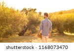 caucasian farmer or gardener... | Shutterstock . vector #1168073470
