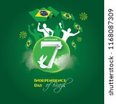 vector illustration. brazilian... | Shutterstock .eps vector #1168087309