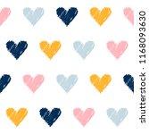 abstract handmade seamless... | Shutterstock .eps vector #1168093630