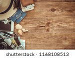 looking image of travelling... | Shutterstock . vector #1168108513