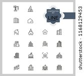 construction icons. set of ... | Shutterstock .eps vector #1168129453