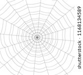 concentric white web on a white ... | Shutterstock .eps vector #1168134589