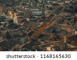 old medieval roman city from... | Shutterstock . vector #1168165630