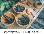 multiple medieval made arrow... | Shutterstock . vector #1168165750