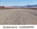 low view angle of open gravel... | Shutterstock . vector #1168180909