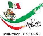 vector illustration. mexican... | Shutterstock .eps vector #1168181653