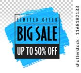 big sale banner template | Shutterstock .eps vector #1168182133