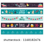 Winter Holiday Banners. Set Of...