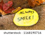 arts and craft  painted rock... | Shutterstock . vector #1168190716