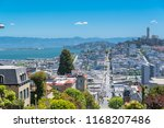 san francisco  the lombard... | Shutterstock . vector #1168207486