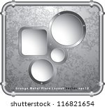 Vector Template With Holes In...