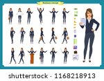 ready to use character set.... | Shutterstock .eps vector #1168218913