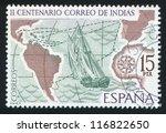 spain   circa 1977  stamp... | Shutterstock . vector #116822650