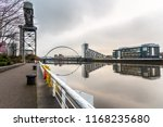 river clyde and a deserted... | Shutterstock . vector #1168235680