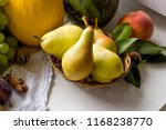 organic pear  organic pears in...   Shutterstock . vector #1168238770