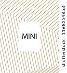 minimal vector cover. linear... | Shutterstock .eps vector #1168254853