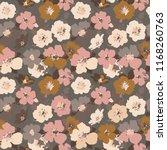 vintage floral pattern....   Shutterstock .eps vector #1168260763