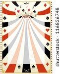 Vintage Poker Background.  A...