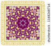 decorative colorful ornament on ... | Shutterstock .eps vector #1168268716