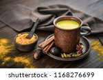 traditional indian drink... | Shutterstock . vector #1168276699