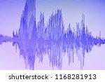 audio sound wave studio editing ... | Shutterstock . vector #1168281913