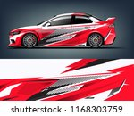 car decal wrap design vector.... | Shutterstock .eps vector #1168303759