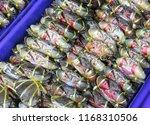 fresh horse crab | Shutterstock . vector #1168310506