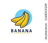 banana logo design | Shutterstock .eps vector #1168314109
