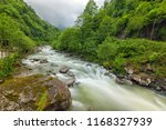 long exposure landscape of the...   Shutterstock . vector #1168327939