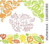 autumn. vector illustration | Shutterstock .eps vector #1168328383