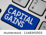writing note showing capital... | Shutterstock . vector #1168343503