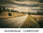 An Image Of A Nice Road In The...